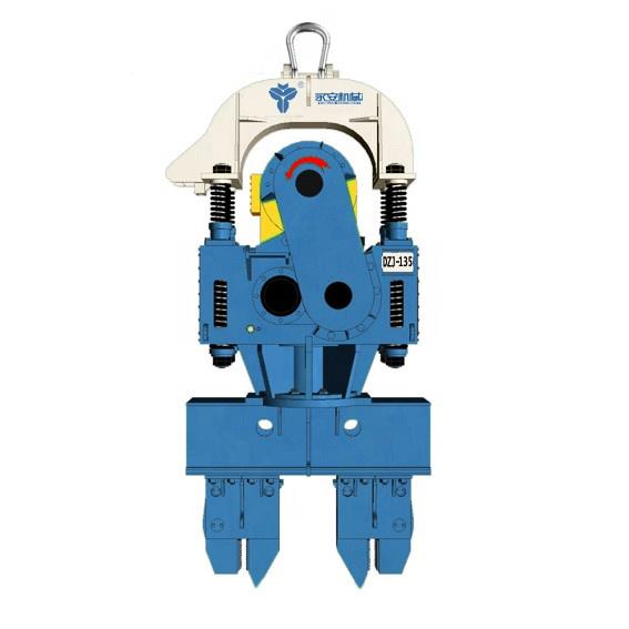 DZ-45 vibratory hammer - SMALL SIZE