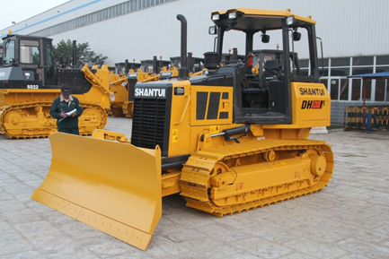 SHANTUI New Bulldozer DH08 Debut in the Southeast Asian Market