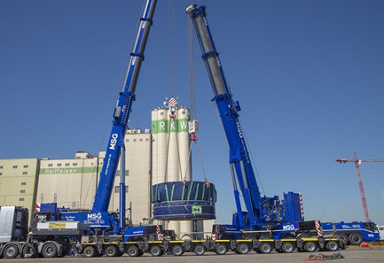 Terex upgrades Demag AC500-8 all-terrain crane