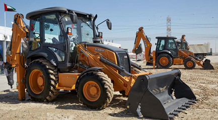 Case launches 570T in UAE after two-year wait