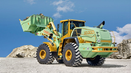 Liebherr delivers 50,000th wheel loader
