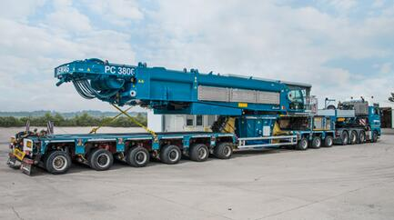 Terex launches Demag PC 3800-1 pedestal crane