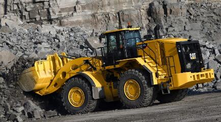 Cat launches 986K loader with redesigned cab, STIC control