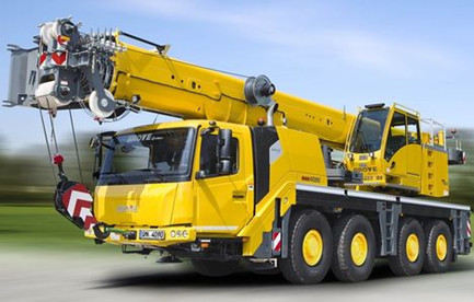 Manitowoc announced new four axle Grove All Terrain crane GMK4090