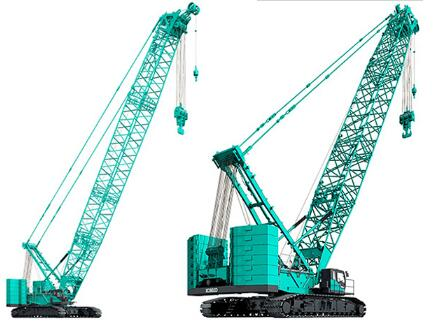 Kobelco launches new crawlers