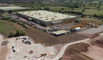 JCB expands UK plant
