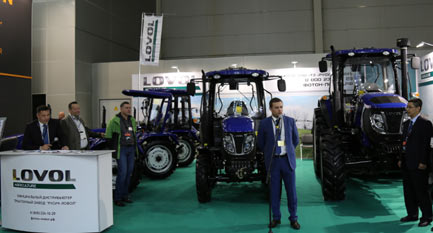 New Products of the Third Generation LOVOL Tractors Launched in Russia